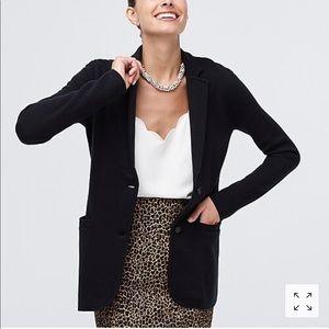 JCrew factory sweater blazer